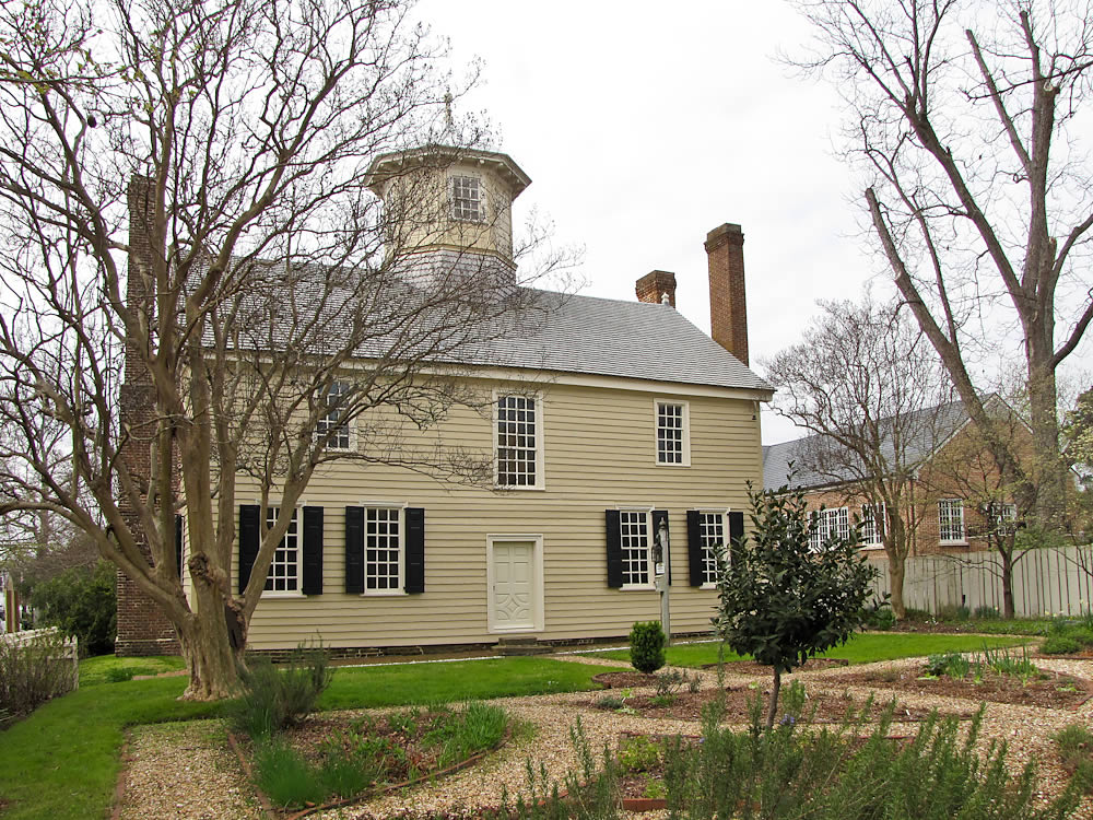 Cupola House Gardens In Bloom Edenton North Carolina