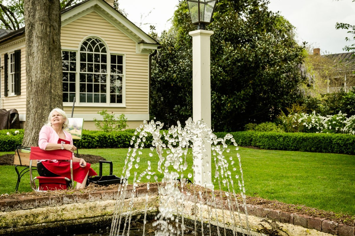 Cupola House Easels In The Gardens Edenton North